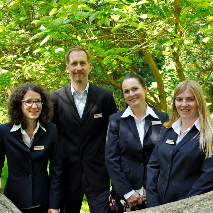 Mainau-Bankettbüro-Team